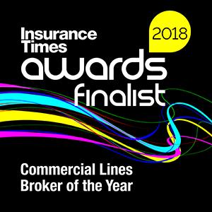 Insurance Times Award 2018 Finalist