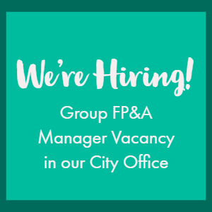 We're Hiring a GROUP FP&A Manager in our City Office