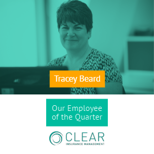 Announcing the winner of this quarter's CLEAR employee award!