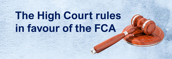 High Court rules in favour of the Financial Conduct Authority (FCA) on the majority of issues raised in its business interruption insurance test case