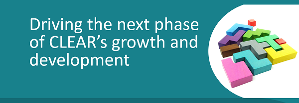 Delivering the next phase of CLEAR's growth and development