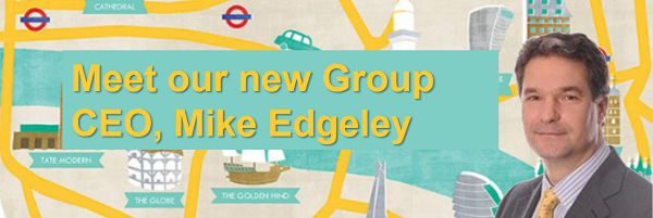 Meet our new Group CEO, Mike Edgeley