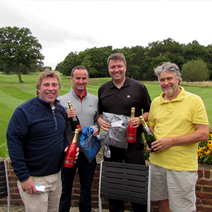 CLEAR raises funds for Cancer Research UK at annual Golf Day