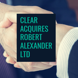 CLEAR buys Robert Alexander Ltd with more broker acquisitions planned for 2018