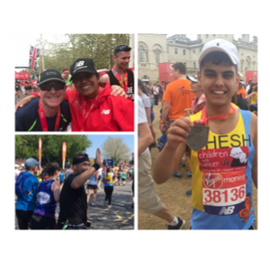 After Months of Training for The London Marathon, CLEAR's Team Hits the Ground Running