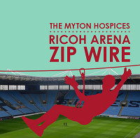 Leamington Spa's intrepid trio take on the zip wire challenge in support of Myton Hospice